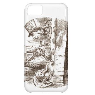 A Mad Tea Party Tenniel Sepia iPhone 5C Cover