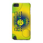 A Mãe Linda Brazil Flag Colors Pop Art iPod Touch 5G Cases