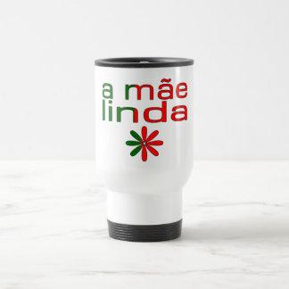 A Mãe Linda Portugal Flag Colors Travel Mug
