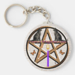 A Magical Day Basic Round Button Keychain
