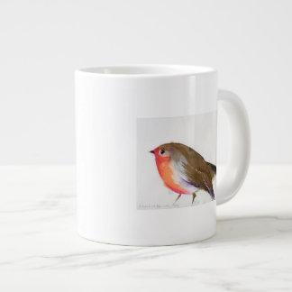 A magical little robin called Wisp 2011 Large Coffee Mug
