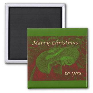 A Magical Mystical 'Shroom for Christmas Magnet