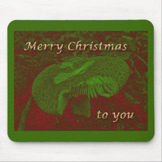 A Magical Mystical 'Shroom for Christmas Mouse Pad
