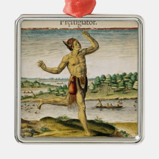 A Magician from Virginia Metal Ornament