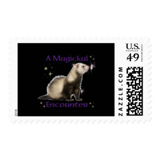 a magickal encounter stamp