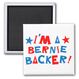 A magnet to indicate your enthusiasm for Bernie.