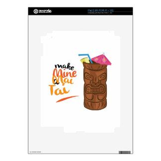 A Mai Tai Skin For The iPad 2