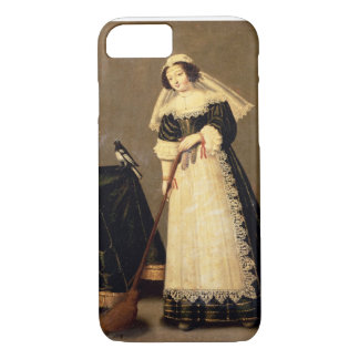 A Maid with a Broom iPhone 7 Case