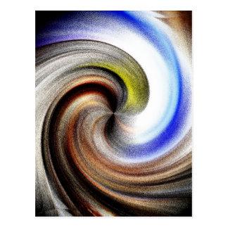 A Maidens Swirl Postcard