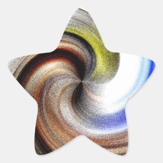 A Maidens Swirl Star Sticker