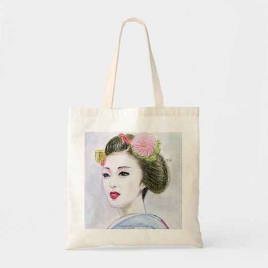 A MAIKO GIRL TOTE BAG