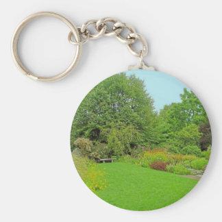 A Maine Garden Keychain