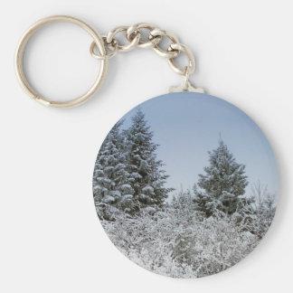 A Maine Winter 4 Keychain