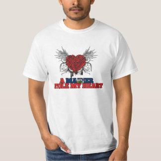 A Mainer Stole my Heart Tee Shirt