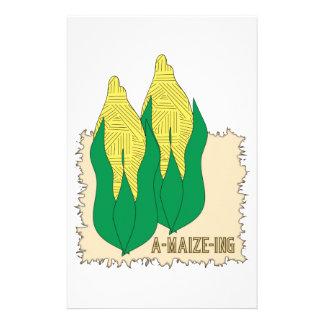 A Maize Ing Personalized Stationery