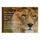A Majestic lion Business Card Templates