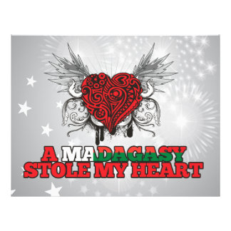A Malagasy Stole my Heart Flyer