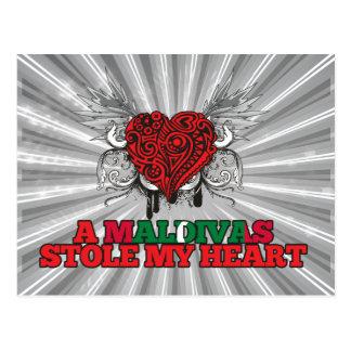 A Maldivan Stole my Heart Postcard