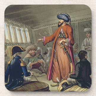 A Mameluke Delivering a Message from Mourad Bey, e Drink Coasters