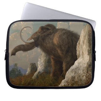 A Mammoth on Monument Hill Computer Sleeve