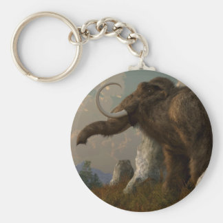 A Mammoth on Monument Hill Keychain