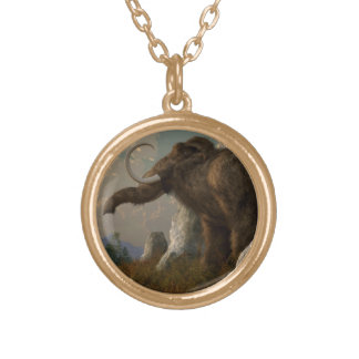 A Mammoth on Monument Hill Pendant