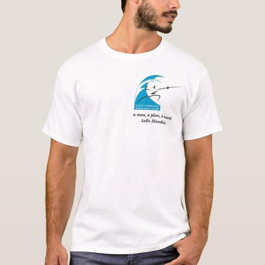 a man, a plan, a sword: Salle Honolulu T-Shirt