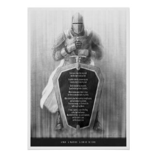 A Man, A Warrior, A Son of the King Poster