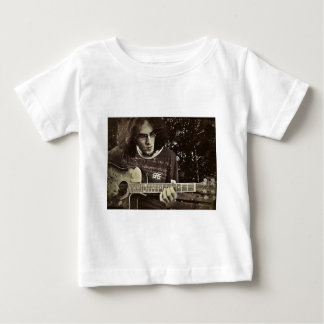 A man and his Guitar. Baby T-Shirt