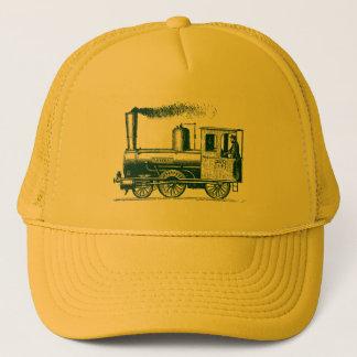 A Man and His Train - Dark Green Trucker Hat