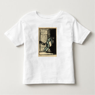 A man caught putting up political posters toddler t-shirt