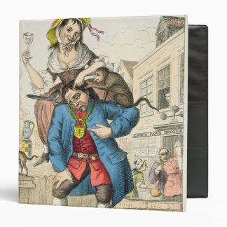 A Man Loaded with Mischief, or Matrimony, c.1766 Binder