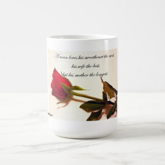 A Man Loves...His Mother Coffee Mug