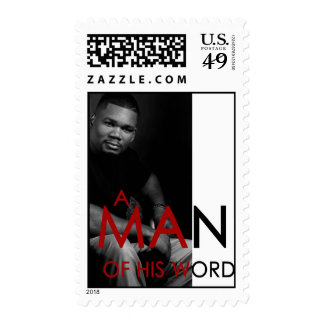 """""""A Man of His Word"""" Stamps"""