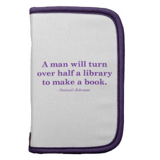 A Man Will Turn Over Half A Library Folio Planners