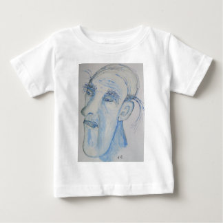 A Man With A Lot On His Mind Baby T-Shirt