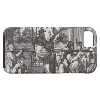 A Mandarin in a Sedan Chair, illustration from a d iPhone 5 Cover