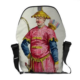 A Mandarin Warlord from 'Receuil des Estampes, Rep Messenger Bag