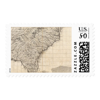 A Map of the British Empire in America Sheet 10 Postage