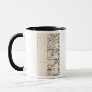 A Map of the British Empire in America Sheet 12 Mug