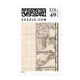 A Map of the British Empire in America Sheet 12 Stamp