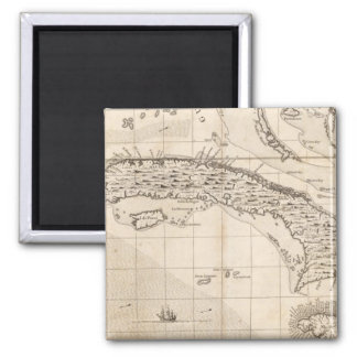 A Map of the British Empire in America Sheet 14 2 Inch Square Magnet