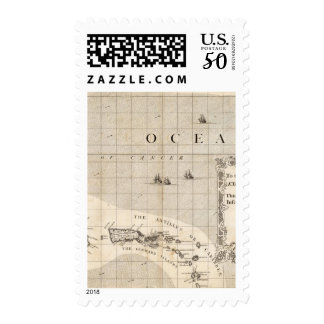 A Map of the British Empire in America Sheet 15 Postage