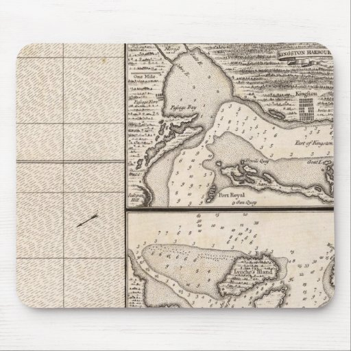 A Map of the British Empire in America Sheet 16 Mousepads