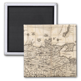 A Map of the British Empire in America Sheet 19 2 Inch Square Magnet