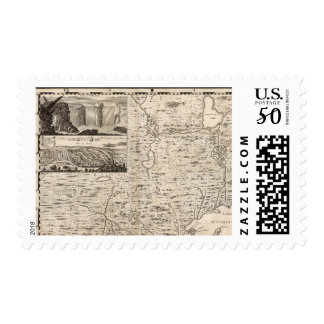 A Map of the British Empire in America Sheet 1 Postage