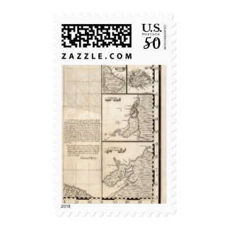 A Map of the British Empire in America Sheet 20 Postage