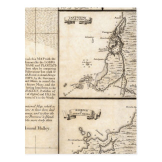 A Map of the British Empire in America Sheet 20 Postcard