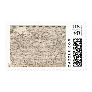 A Map of the British Empire in America Sheet 2 Postage