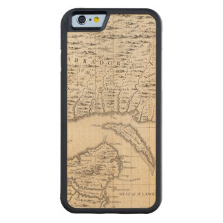 A Map of the British Empire in America Sheet 3 Carved® Maple iPhone 6 Bumper
